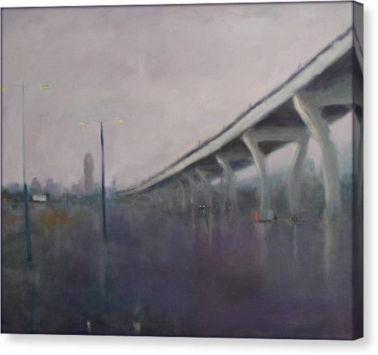 Brooklyn Underpass Canvas Print