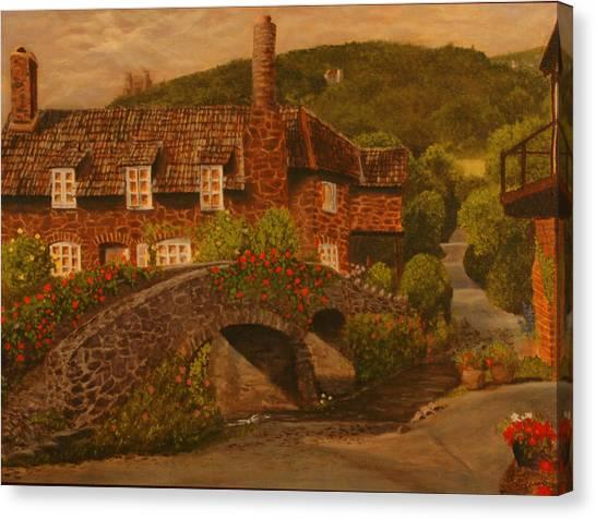 Brookstone Inn Canvas Print