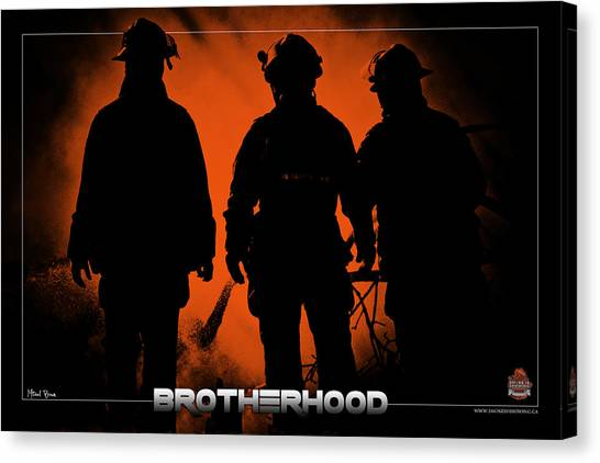 Brotherhood 1 Canvas Print by Mitchell Brown