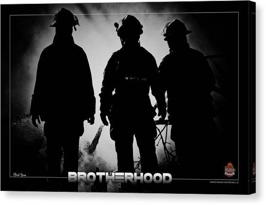 Brotherhood 2 Canvas Print by Mitchell Brown