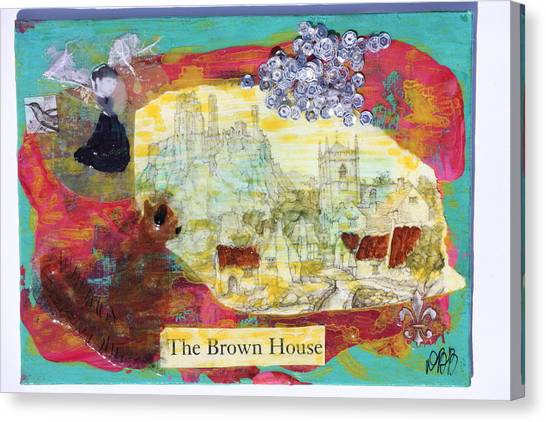 Brown House No 1 Canvas Print