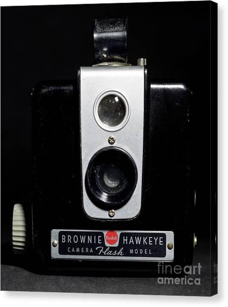Brownie Hawkeye Flash Camera Canvas Print