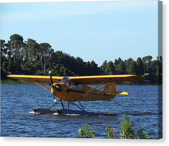 Brown's Piper Cub 005  Canvas Print