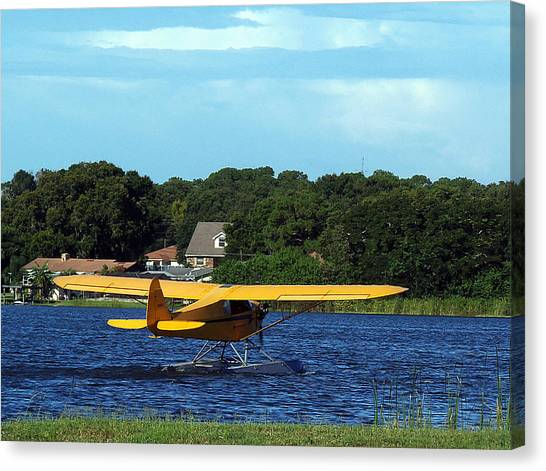 Brown's Piper Cub Canvas Print