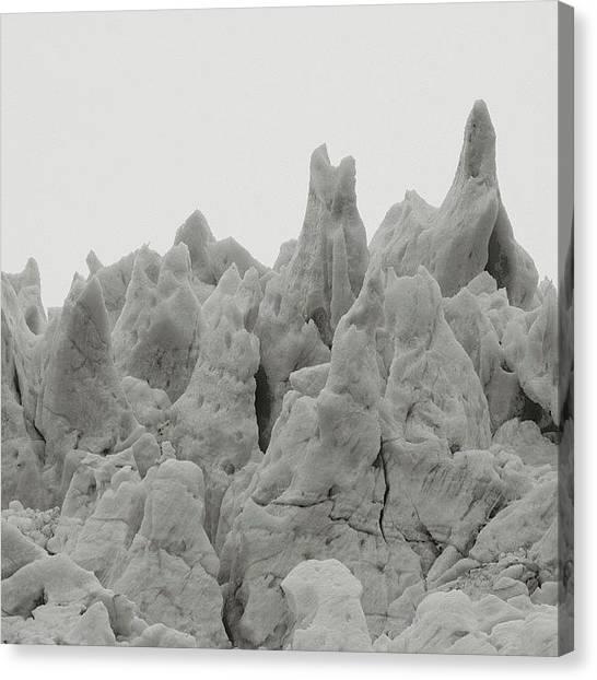 Glaciers Canvas Print - Brrrr. #alaska #mountains by Leighton OConnor
