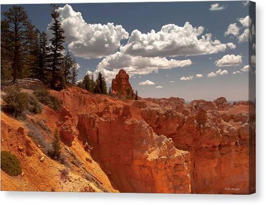 Bryce Canyon Sky  Canvas Print