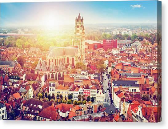 Bruges, Belgium Canvas Print by Artmarie