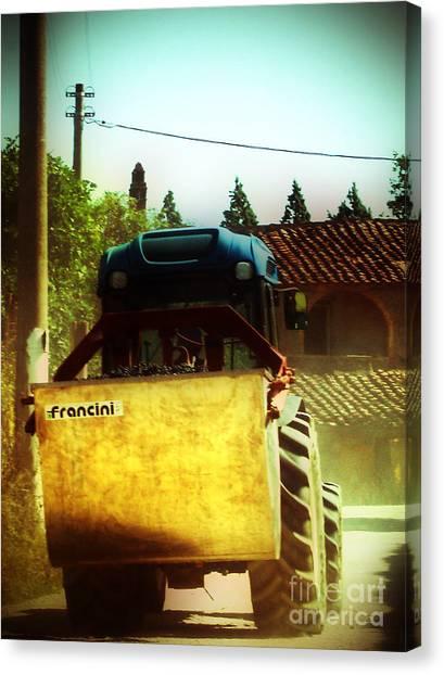 Brunello Taxi Canvas Print