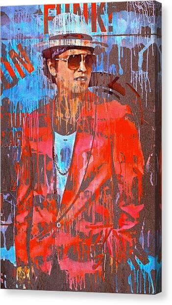 Bruno Mars - Uptown Funk 7 Canvas Print