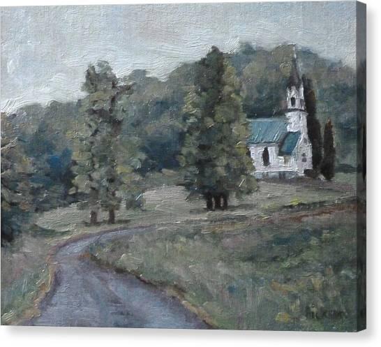 Brush Creek Church Canvas Print