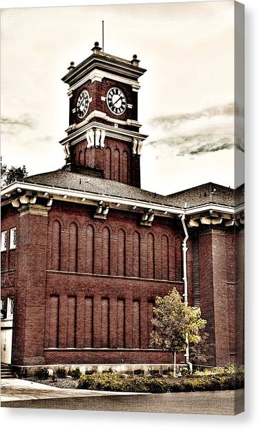 Washington State University Canvas Print - Bryan Hall - Washington State University by David Patterson
