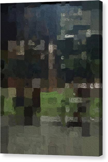 Squares Canvas Print - Bryant Park by Linda Woods