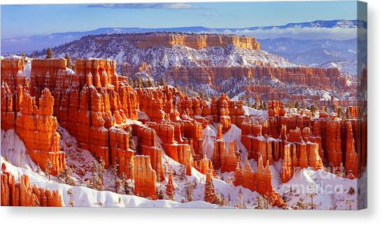 Bryce Canyon Panorama Canvas Print