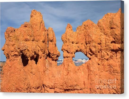 Bryce Canyon Peephole Canvas Print