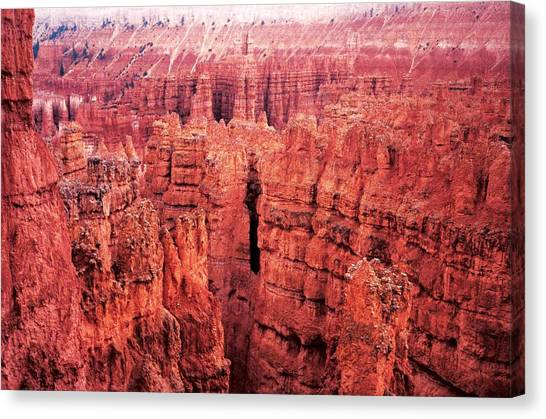 Bryce Canyon Red Canvas Print