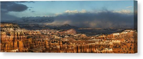Bryce Storm Canvas Print