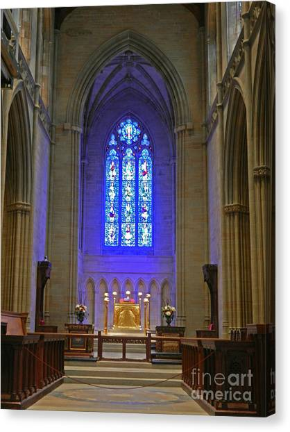 Bryn Athyn Cathedral Altar Canvas Print