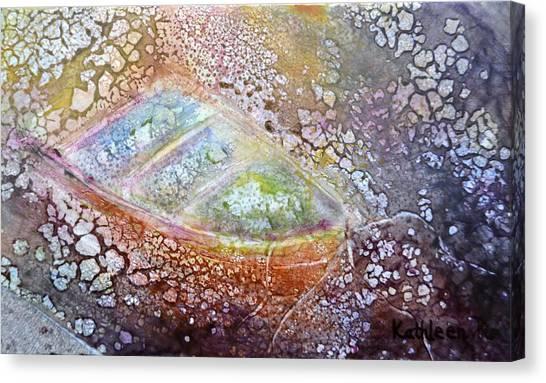Bubble Boat Canvas Print