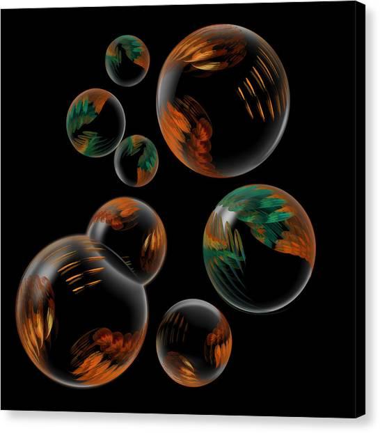 Bubble Farm Fractal Canvas Print