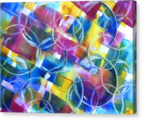 Bubble Fun Canvas Print