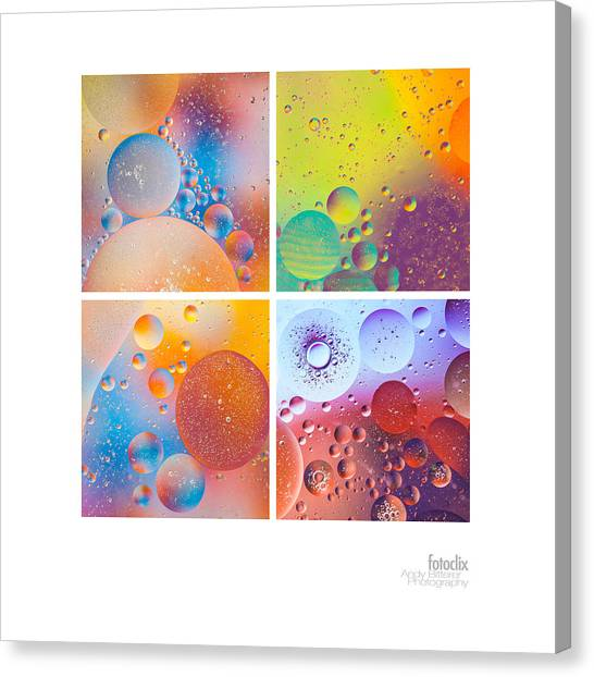 Bubbles I Canvas Print