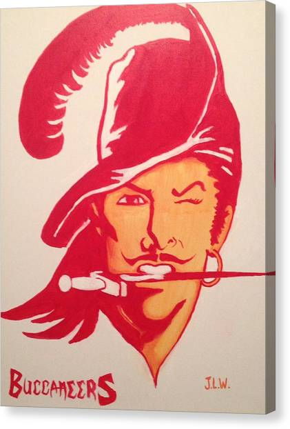 Buccaneers Canvas Print