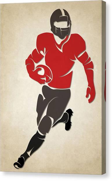Tampa Bay Buccaneers Canvas Print - Buccaneers Shadow Player by Joe Hamilton