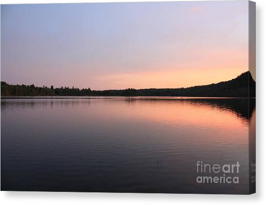 Buck Pond At Dusk Canvas Print