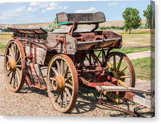 Buckboard Wagon Canvas Print