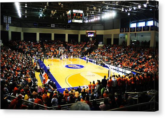 Patriot League Canvas Print - Bucknell Bison Sojka Pavilion by Replay Photos