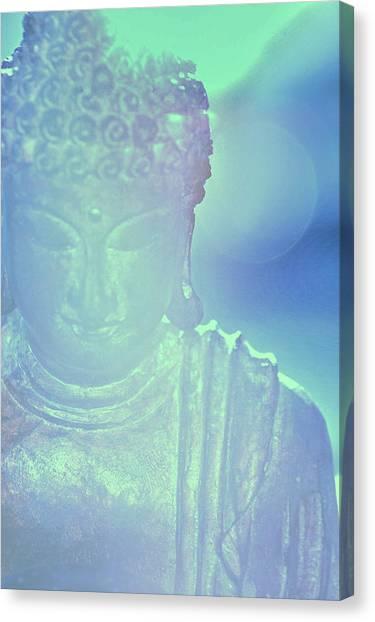 Buddah Bokeh Canvas Print