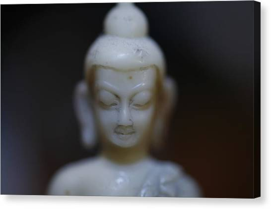 Buddha Canvas Print by Brady D Hebert