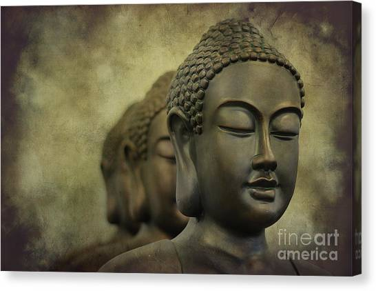 Buddha Bronze Canvas Print