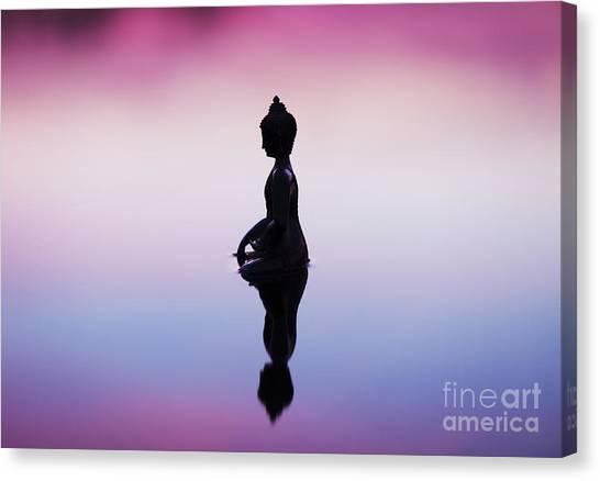 Buddha Canvas Print - Buddha Dawn by Tim Gainey