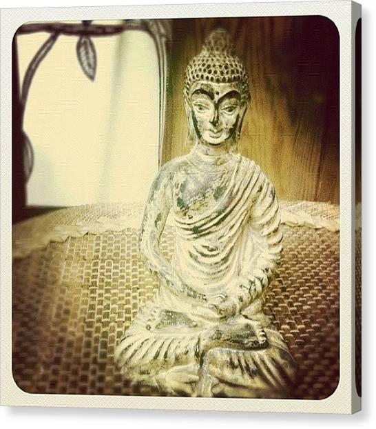 Hinduism Canvas Print - Buddha Sitting by Jordan Paris