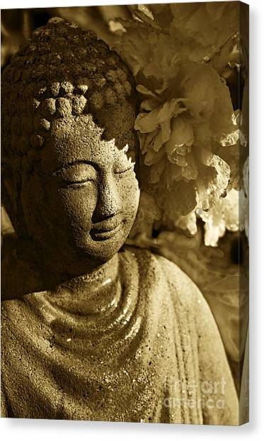 Buddha's Kiss Canvas Print