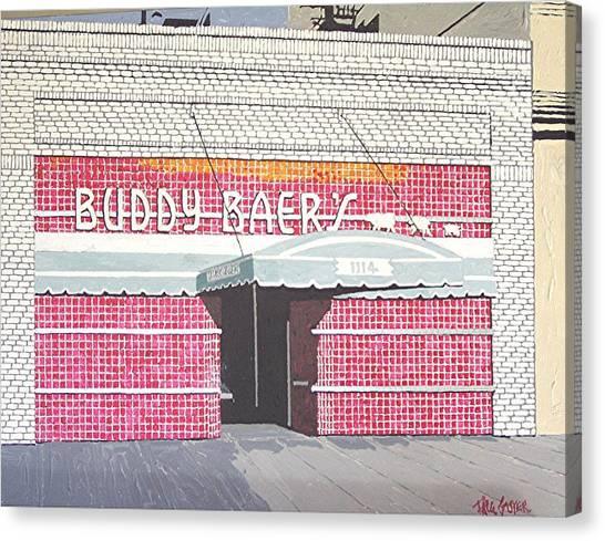 Buddy Baer's Canvas Print by Paul Guyer