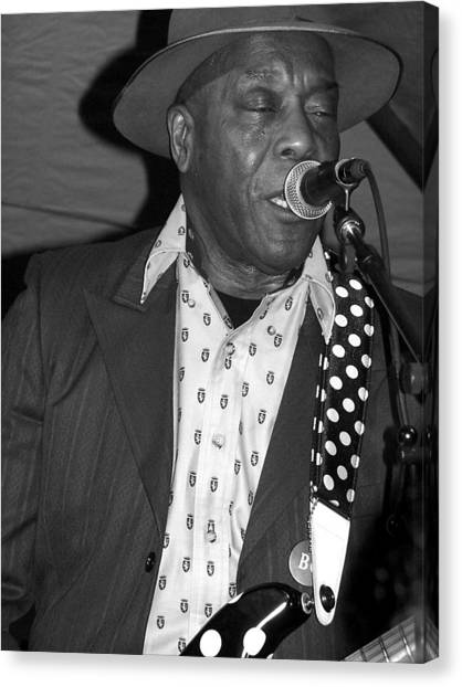 Buddy Guy Sings The Blues Canvas Print