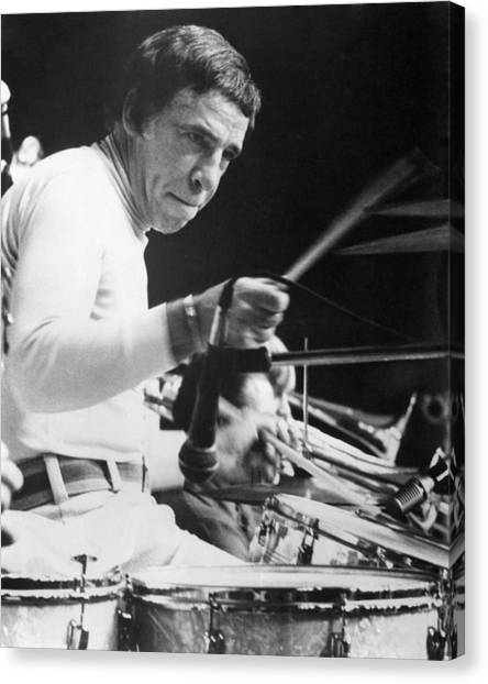 Buddy Rich Canvas Print