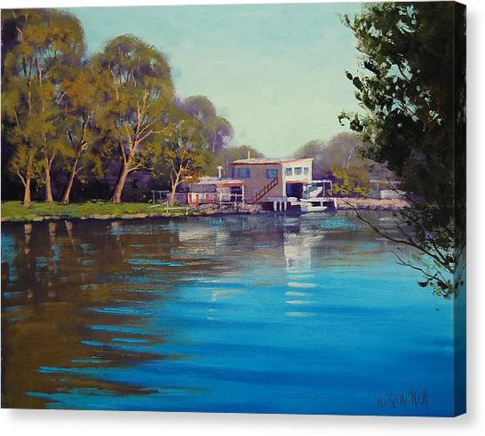 Budgewoi Creek Canvas Print by Graham Gercken