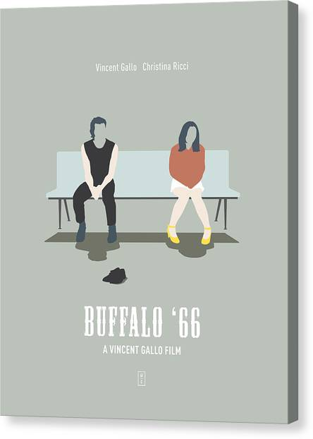 Bowling Shoes Canvas Print - Buffalo '66 by Smile In The  Mind