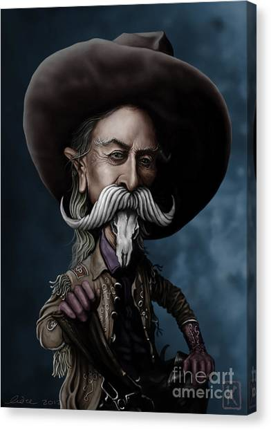 Buffalo Bills Canvas Print - Buffalo Bill by Andre Koekemoer