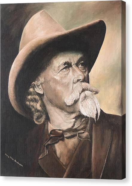 Buffalo Bill Cody Canvas Print