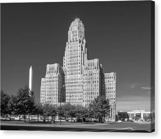 Buffalo City Hall 0519b Canvas Print