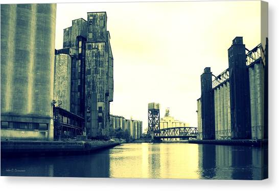 Buffalo River Canvas Print by John Carncross