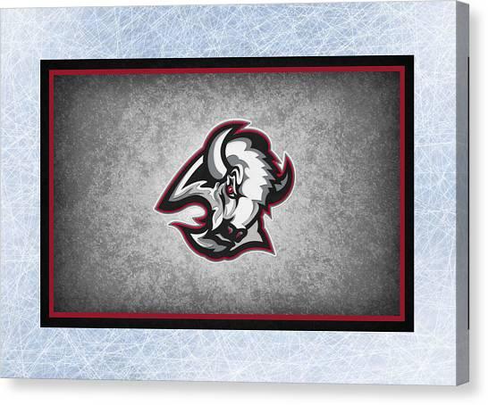 Buffalo Sabres Canvas Print - Buffalo Sabre by Joe Hamilton