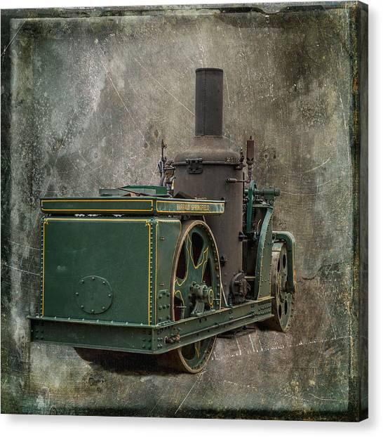 Buffalo Springfield Steam Roller Canvas Print