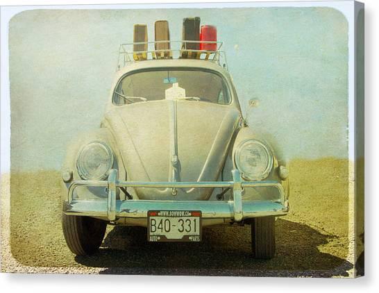 Bug On A Trip Canvas Print