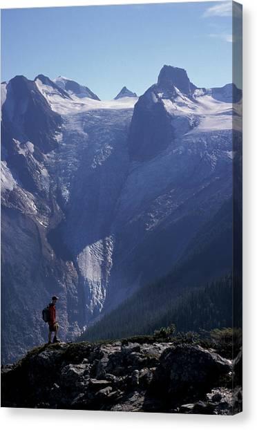 Canada Glacier Canvas Print - Bugaboo Glacier by Chris Pinchbeck