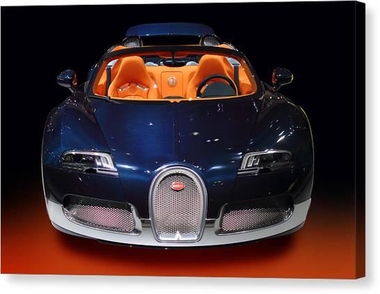 Bugatti Luxury Sport Car Canvas Print
